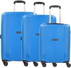 Airwave VTT 4-Rollen-Trolley Set 3-tlg. Epic iceBLUE