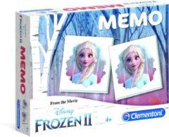 Clementoni - Spel Memory Pocket - Disney Frozen 2 - Kaartspel