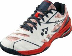 Yonex badmintonschoenen Power Cushion 56 wit/rood unisex maat 38