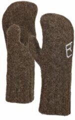 Ortovox - Swisswool Classic Mitten - Handschoenen maat XL, bruin