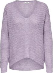 Jacqueline De Yong JdY JDYNEW MEGAN L/S PULLOVER KNT NOOS - Pastel Lilac - Vrouwen - Maat L