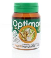 Optimax Frutin Maagfijn Voedingssupplement - 50 Kauwtabletten