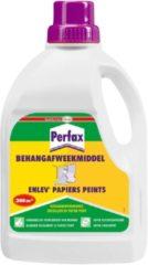 Transparante Perfax Behangafweekmiddel Behanglijm Behangplaksel - 1 Liter