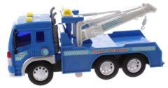 Blauwe Toi-Toys Toi Toys Takelwagen met licht en geluid 28 cm blauw