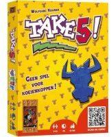 999 Games kaartspel Take 5! karton geel 105-delig
