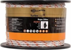 Gallagher Cord TurboLine (6 MM / Wit) - 200 Meter
