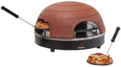 APG410, Pizzaofen QUARTETTO Bestron braun