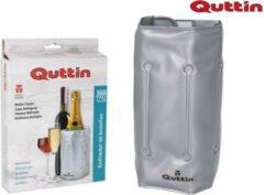 Grijze Quttin FlessenKoeler – Wijn of Champagne Koeler / Fleskoeler aanpasbare