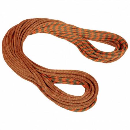 Afbeelding van Mammut - 9.5 Crag Dry Rope - Enkeltouw maat 50 m, bruin/rood