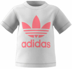 Adidas Originals Adicolor T-shirt wit/lichtroze