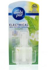 Transparante Ambi Pur Electrical Ochtend Dauw Navulling - 20ml - Luchtverfrisser