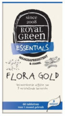 Groene Royal Green Flora gold - 60 tabletten - Royal groen Royal groen