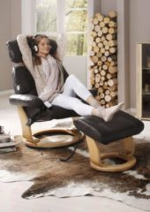 Massagesessel, inklusive Hocker