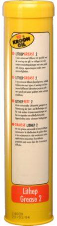 Afbeelding van Gele Kroon-Oil Vetpatroon smeervet Lithep 400 gram