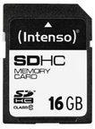 Intenso Speicherkarte Secure Digital SDHC Card 16 GB Intenso bunt/multi