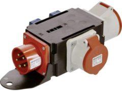 AS Schwabe Power Distributer 400V / 16A CEE IP x 4, spatwaterdicht