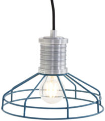 Anne Lighting Lighting - Industriele AN Hanglamp 1-l. draadkorf - Blauw