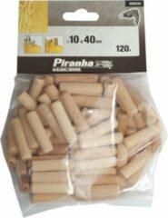 Piranha Deuvels, 120 stuks, 40mm lengte 10mm