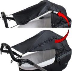 Altabebe Zonnescherm kinderwagen & buggy - Zonnedoek met zijbescherming - Zwart
