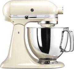Creme witte KitchenAid Artisan mixer-keukenrobot 4,8 liter 5KSM125EAC - Amandelwit