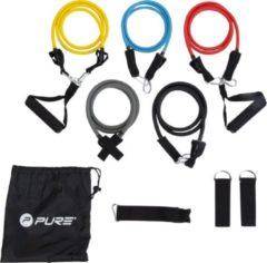 Pure2Improve Weerstandsband - geel/ blauw/ rood/ grijs/ zwart