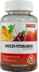 Fitshape Multi vitamine gummies 90 Stuks