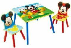 Blauwe Worlds Apart, Disney Frozen Disney Tafel en stoelen set 3-delig Mickey Mouse hout WORL119014