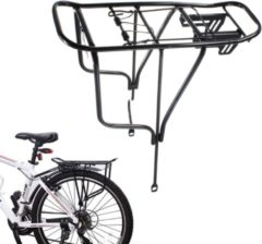 2 Type Bicycle Cycle Pannier Alloy Rear Rack Carrier Bracket Bike Luggage Frame Bike After The Shelf