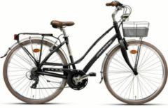 Montana Bike 28 ZOLL MONTANA LUNAPIENA RAD CITYRAD FAHRRAD ALUMINIUM 21 GANG SHIMANO Citybike Damen schwarz
