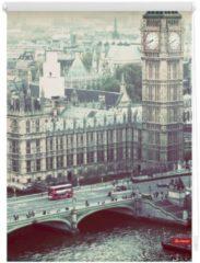 Seitenzugrollo, Lichtblick, »London Westminster«, Klemmfix, Kettenzug, Lichtschutz, Fixmaß, ohne Bohren