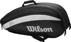 Zwarte Wilson Roger Federer Team 6 Pack