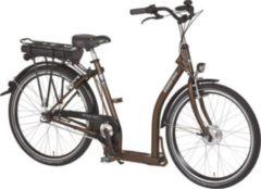 26 Zoll PFAU-TEC P3 braun Damen Elektro City Fahrrad extrem tiefer Einstieg 3 Gang