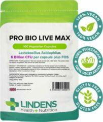 Lindens - Probiotica voor een gezonde spijsvertering - 100 capsules