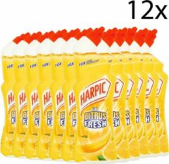 Harpic - Active Fresh Citrus - toiletreiniger - 12 x 750ml