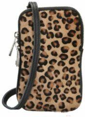 Charm London Elisa Telefoontasje leopard Damestas
