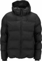 Zwarte Rains - Puffer Jacket - Black - Unisex - Maat XS/S