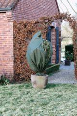 Groene Nature - Wintertuin - Beschermhoes - Voor planten en struiken met rits - Groen - Diameter 150cm x Hoogte 2m