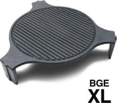 Smokeware Gietijzeren Grillrooster XLarge - Barbecuerooster - Gietijzeren bakplaat- Grillrooster - Bakplaat - Grill-Bakplaat- Ø 61cm - Geschikt voor Bigg groen Egg XLarge