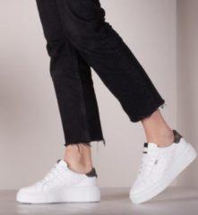 Maruti Bobbi dames sneaker - Wit zwart - Maat 37