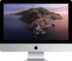 "Apple iMac 54,6 cm (21.5"") 4096 x 2304 Pixels Intel® 8de generatie Core™ i5 8 GB DDR4-SDRAM 256 GB SSD AMD Radeon Pro 560X macOS Catalina 10.15 Wi-Fi 5 (802.11ac) Alles-in-één-pc Zilver"