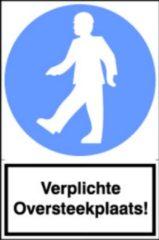 Artelli Sticker Verplichte oversteekplaats (Prijs per stuk)