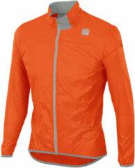 Oranje Sportful Hot Pack Easy Light fietsjas - Jassen
