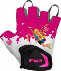Roze R2 Voska Fietshandschoenen Fee Kinder 3 Jaar (13 - 14cm)