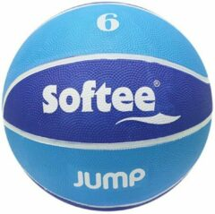 Blauwe Basketbal | Softee | Jump | Maat 6 | Recreatie Basketballen |