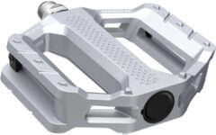Zilveren Shimano EF202 platte MTB pedalen - Platformpedalen