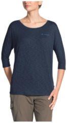 Skomer 3/4 Shirt Vaude Blau