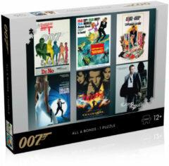 Winning Moves - James Bond Puzzel - 1000 Stukjes - Acteurs Debuut Posters