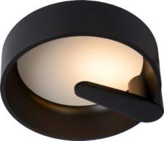Lucide MIAMI Plafonnière - Ø 30 cm - LED Dimb. - 1x12W 3000K - Zwart