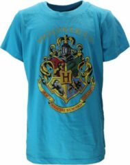 Harry Potter Harry Potter Hogwarts Embleem Kinder T-Shirt Licht Blauw Unisex T-shirt 116