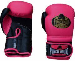 Punch Round Bokshandschoenen Combat Sport Roze Goud 12 oz